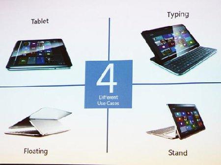 Samsung Ativ Q - трансформируемый планшетный ПК