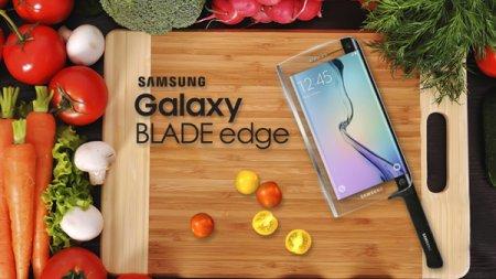 Samsung Galaxy представил умный нож Galaxy Blade