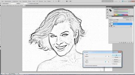 Как сделать фото карандашом в Photoshop?