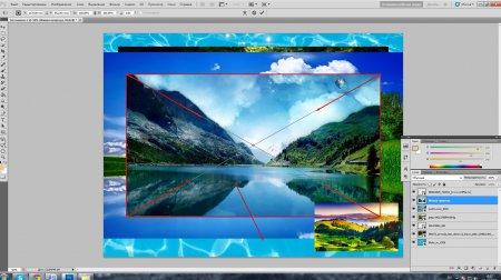 Как сделать коллаж в Photoshop?