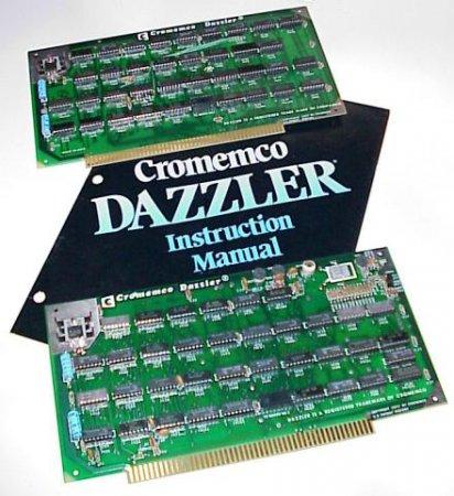 """История появления первой в мире """"цветной"""" видеокарты Cromemco Dazzler"""